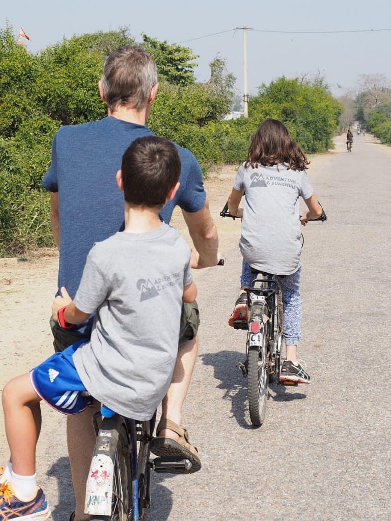 Bhuratpur Keoladeo bikes