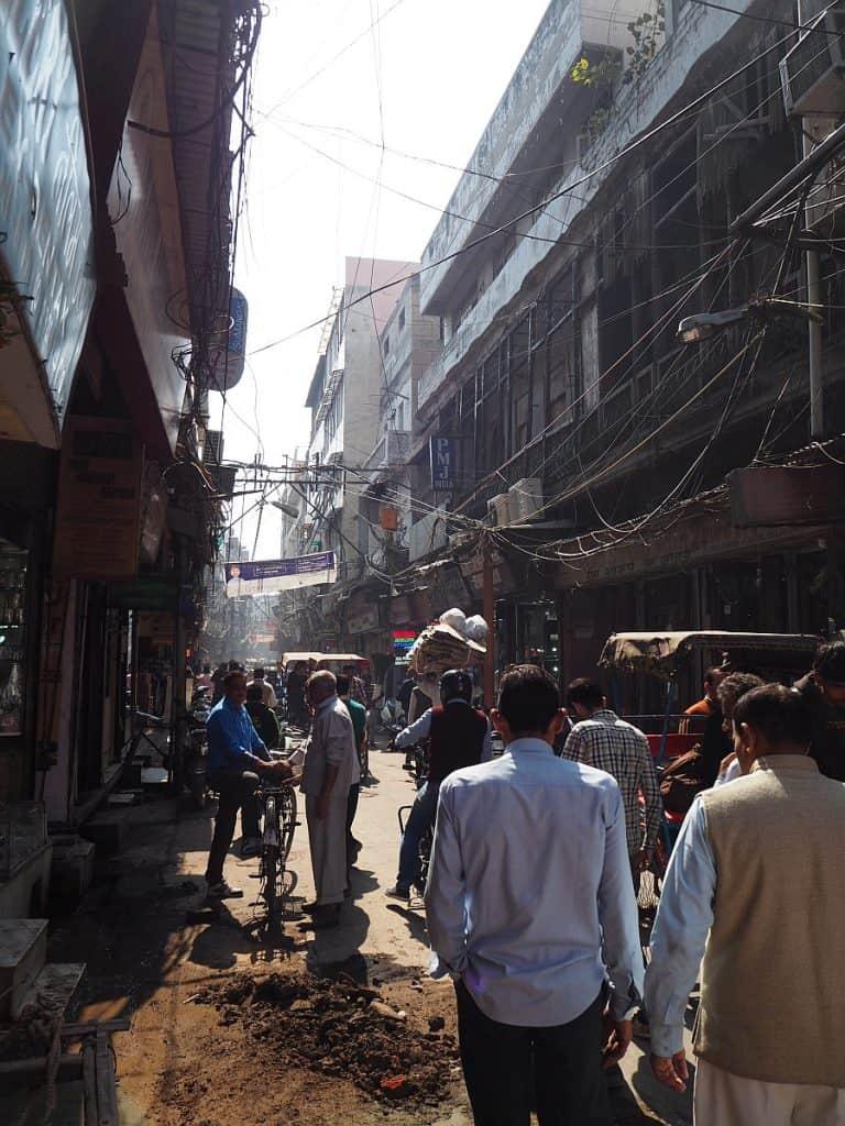 Old Delhi street
