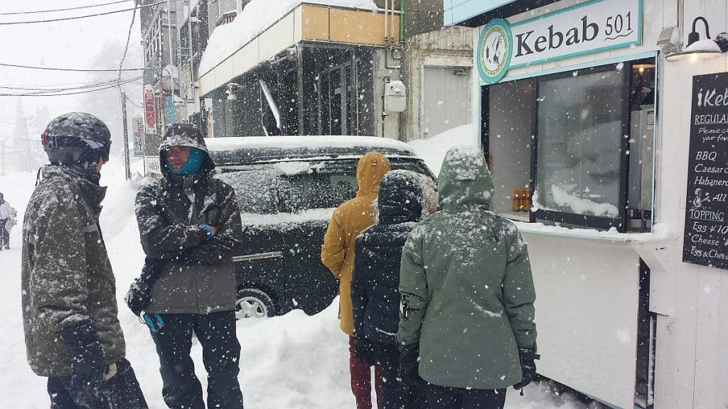 Kebab Shop at Myoko Kogen