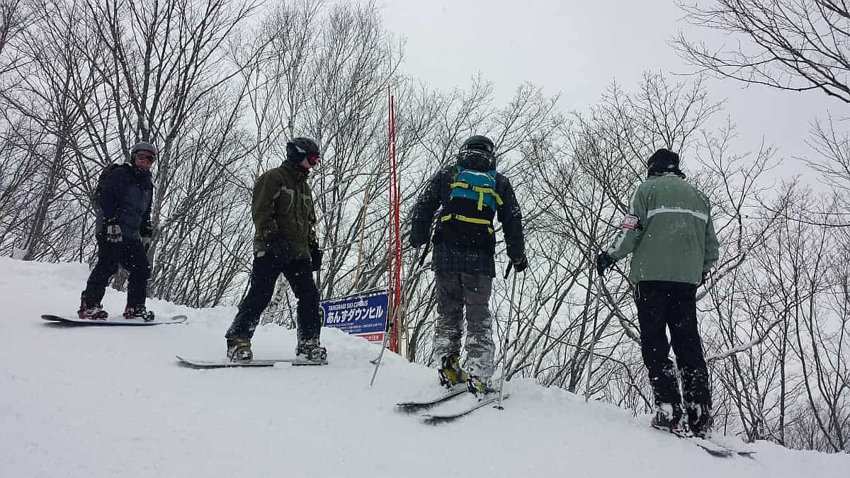 Ski trip with kids to Myoko Kogen, Japan