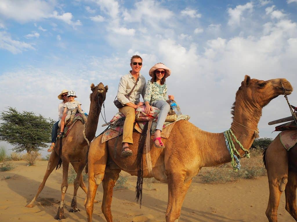 India Camel Safari in the Thar Desert