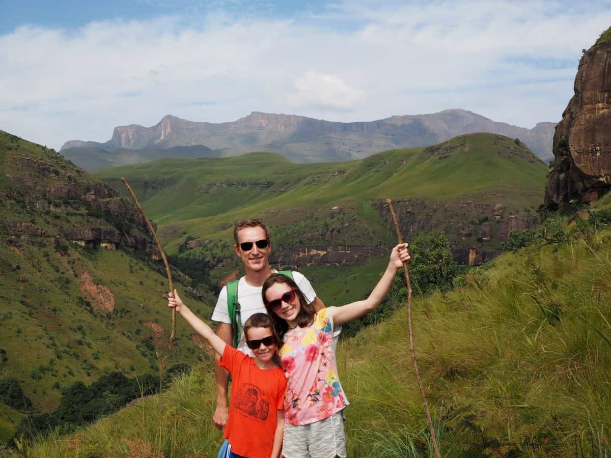 South Africa Drakensberg Cascades Hike