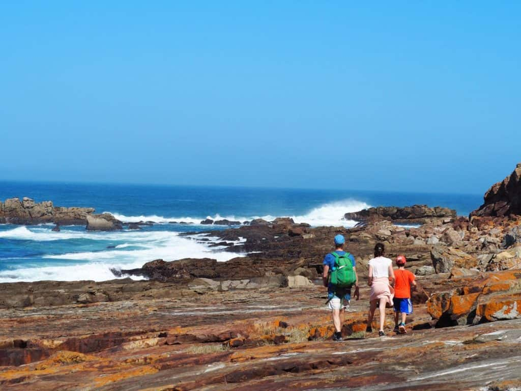 South Africa Robberg Peninsular hike