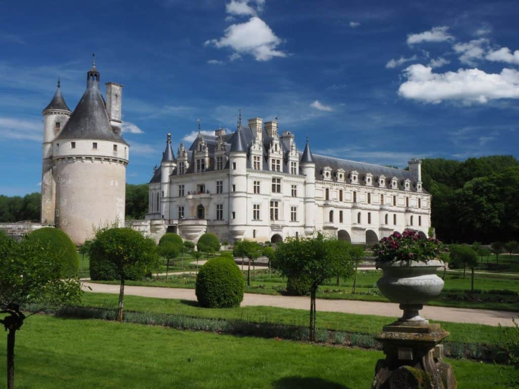Campervan Routes Europe - France Chateaus