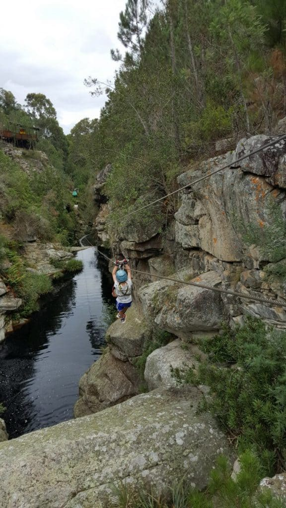 South Africa Zip Lining at Tsitsikamma Gorge
