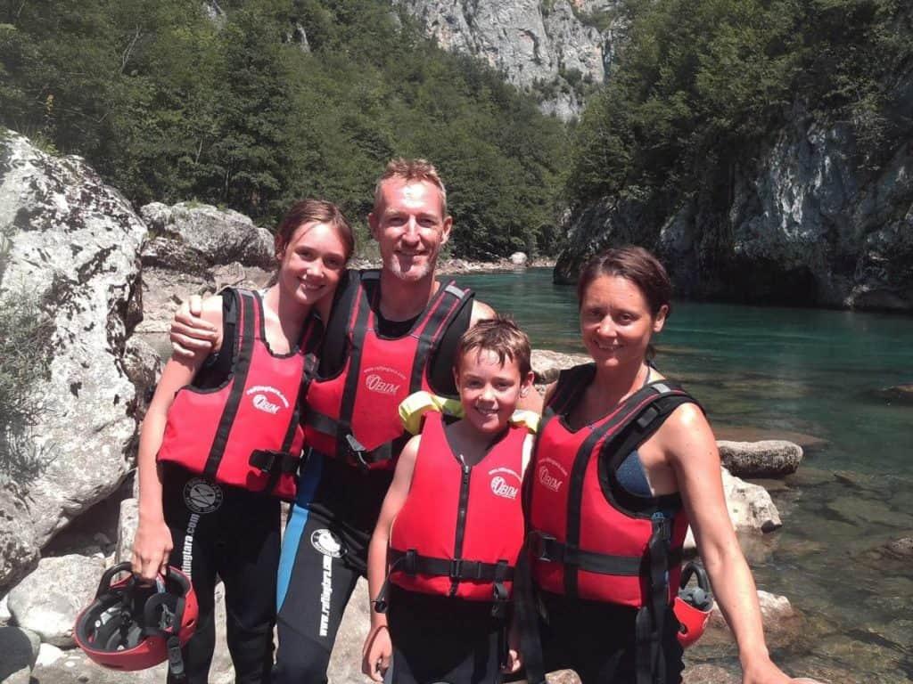 Europe-Montenegro-rafting