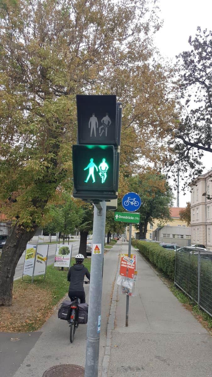 The Danube Cycle Path in Krems