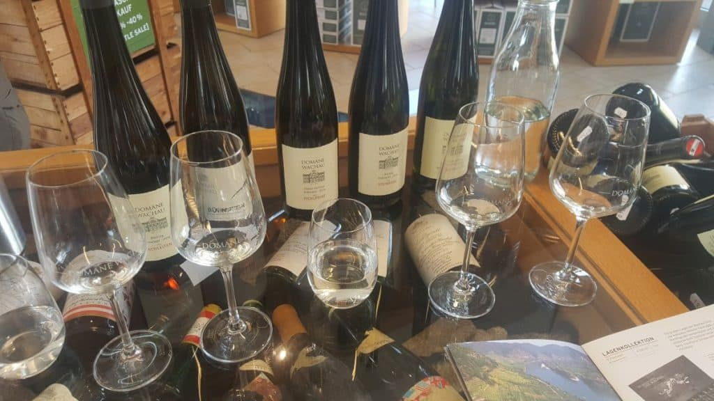 Wine tasting at Domane Wachau