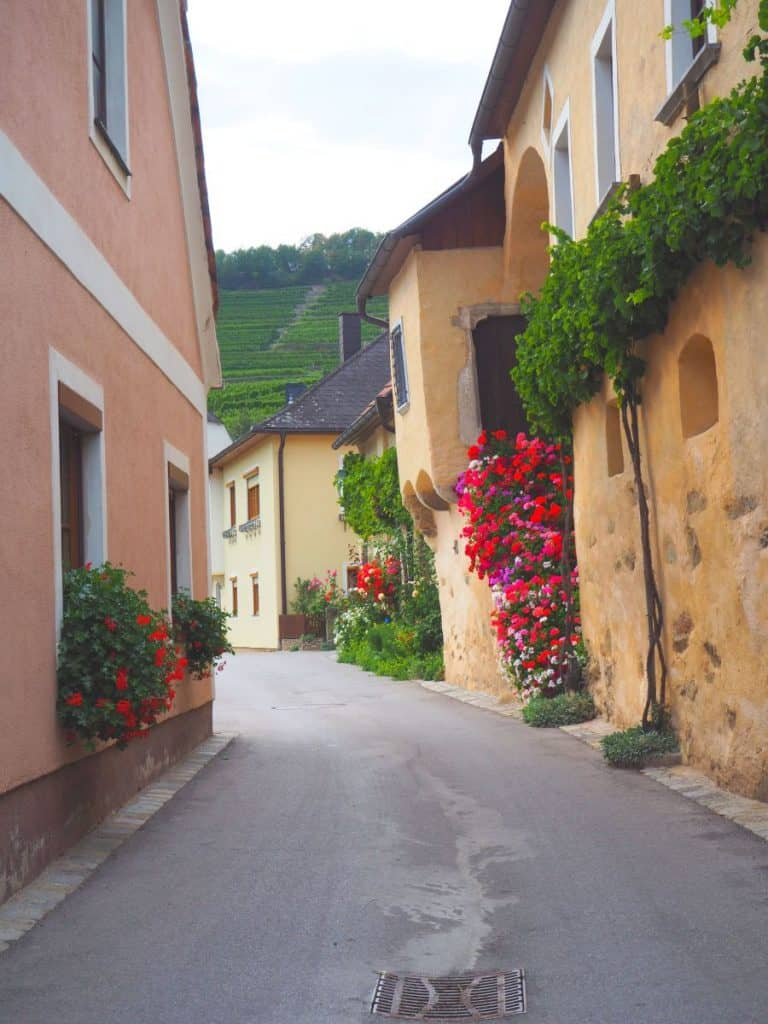The streets of Spitz