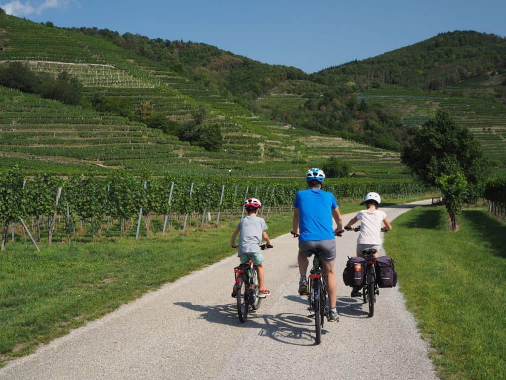 Cycling the Danube Cycle Path through the Wachau Valley