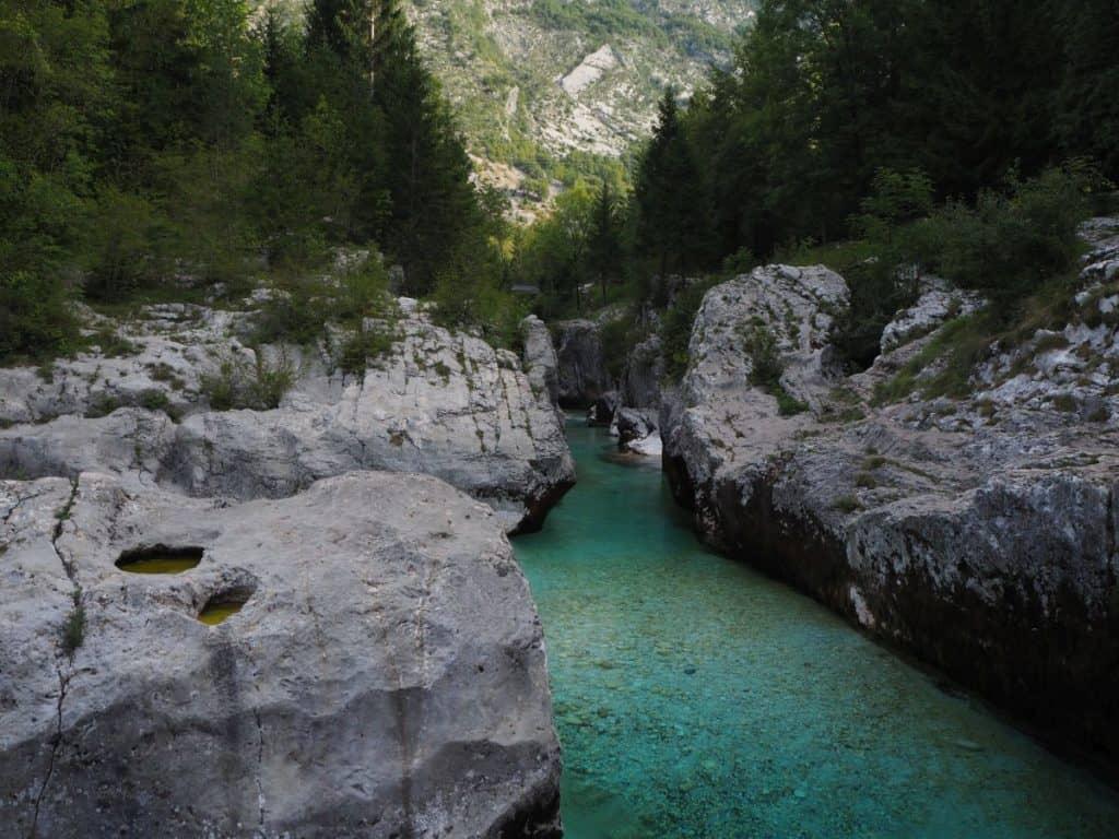 Slovenia-soca-river-gorge