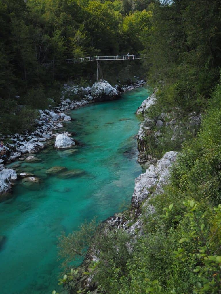 Slovenia-Kobarid-River