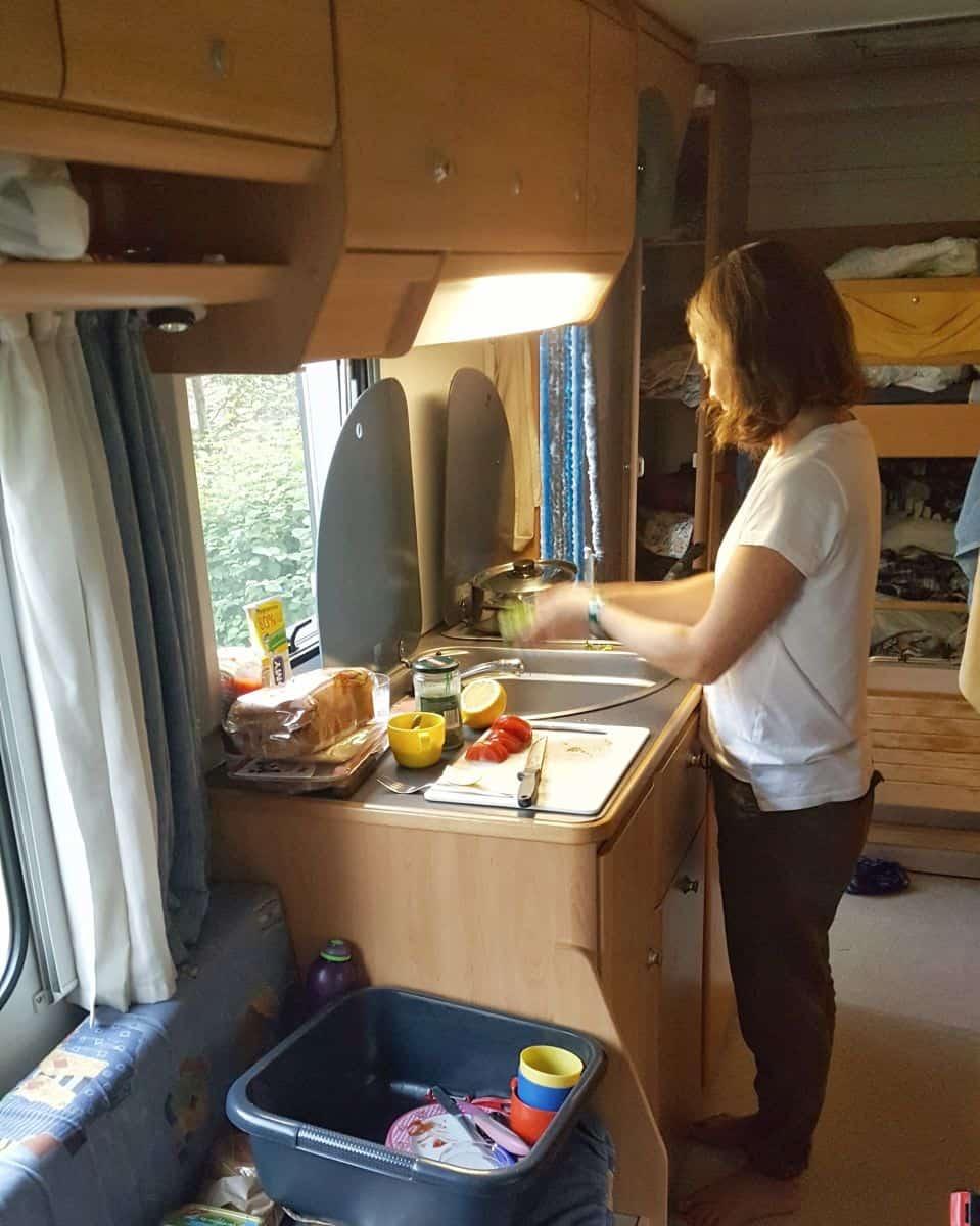 Europe-campervan-interior