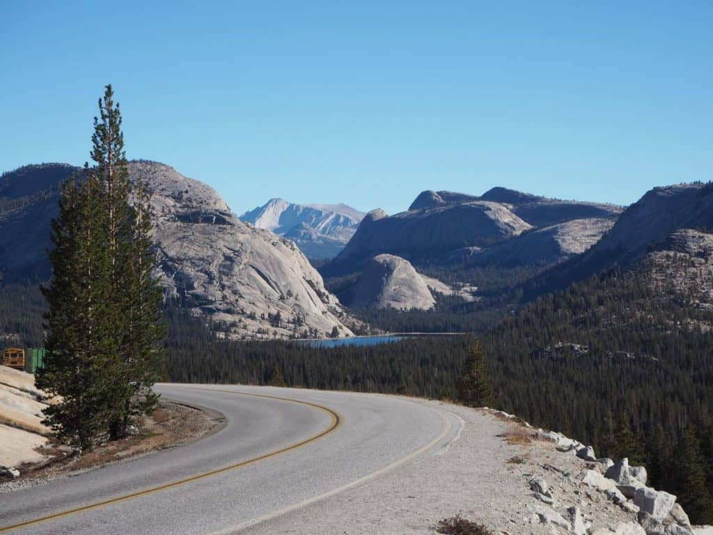 USA West Coast Road Trip - Tioga Pass.