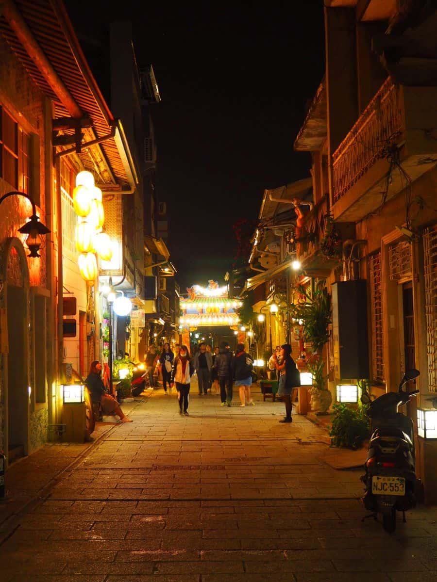 Shennong Street in Tainan