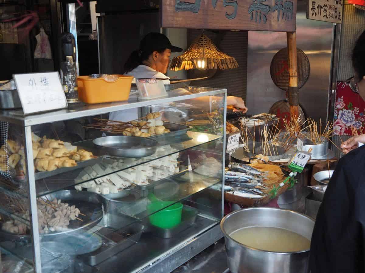 Taiwan skewer restaurant