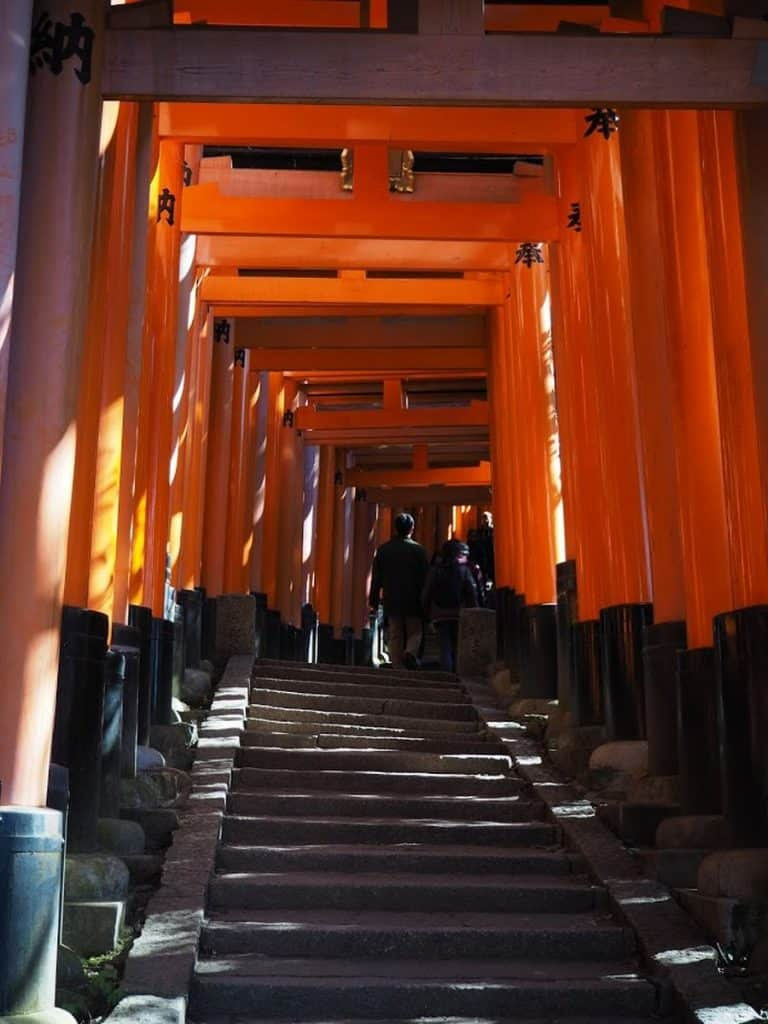 Fushimi Inari Taisha, Orange gates, Kyoto