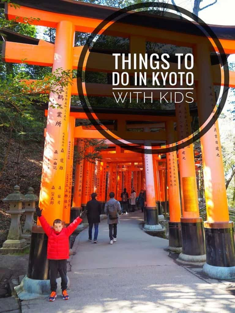 5 cheap things to do in Kyoto with kids #kyoto #familytravel #kyotowithkids