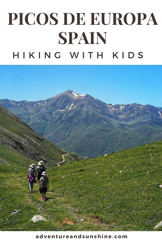 Hiking in Picos de Europa with kids