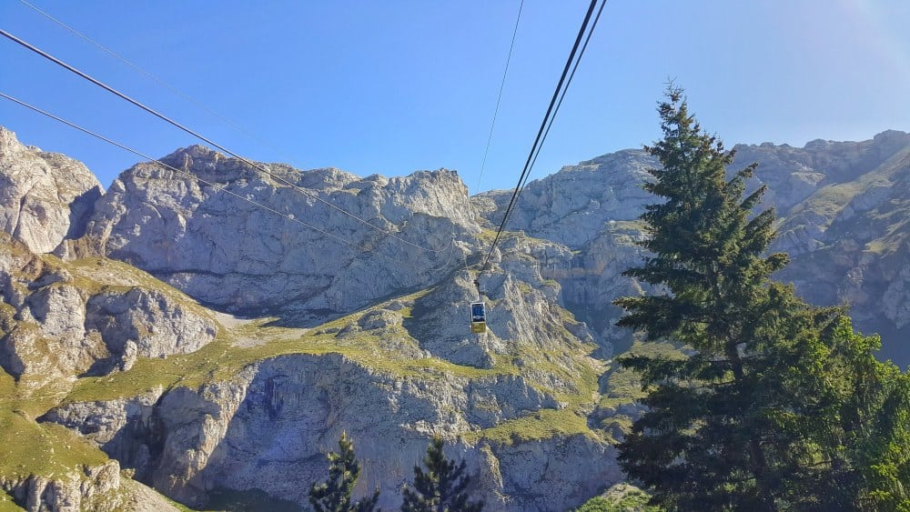Fuente De cable car, Picos de Europa Spain