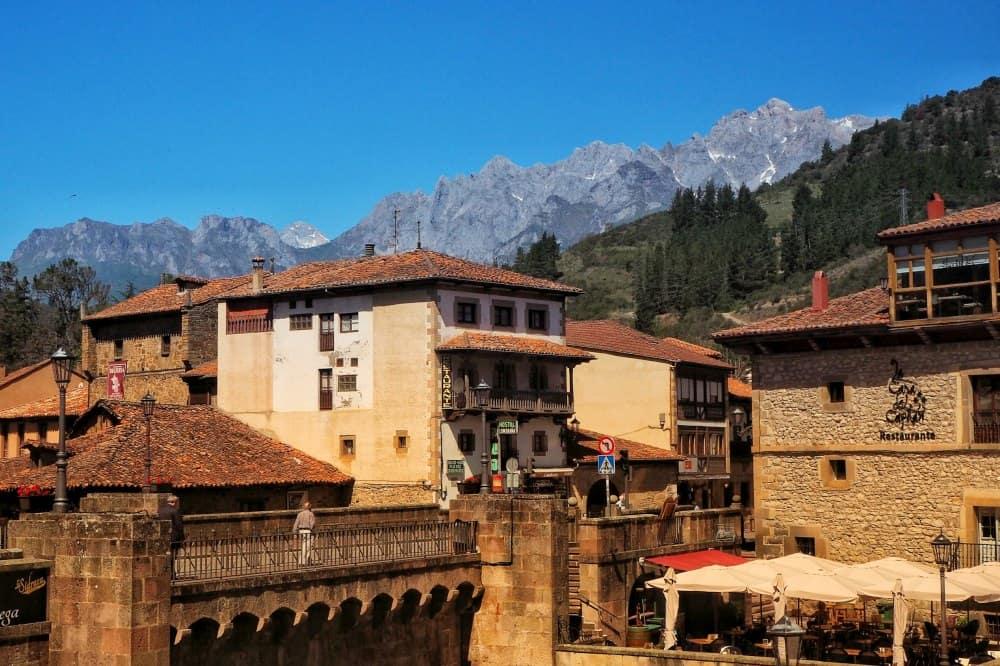 Town of Potes, Picos de Europa, Spain