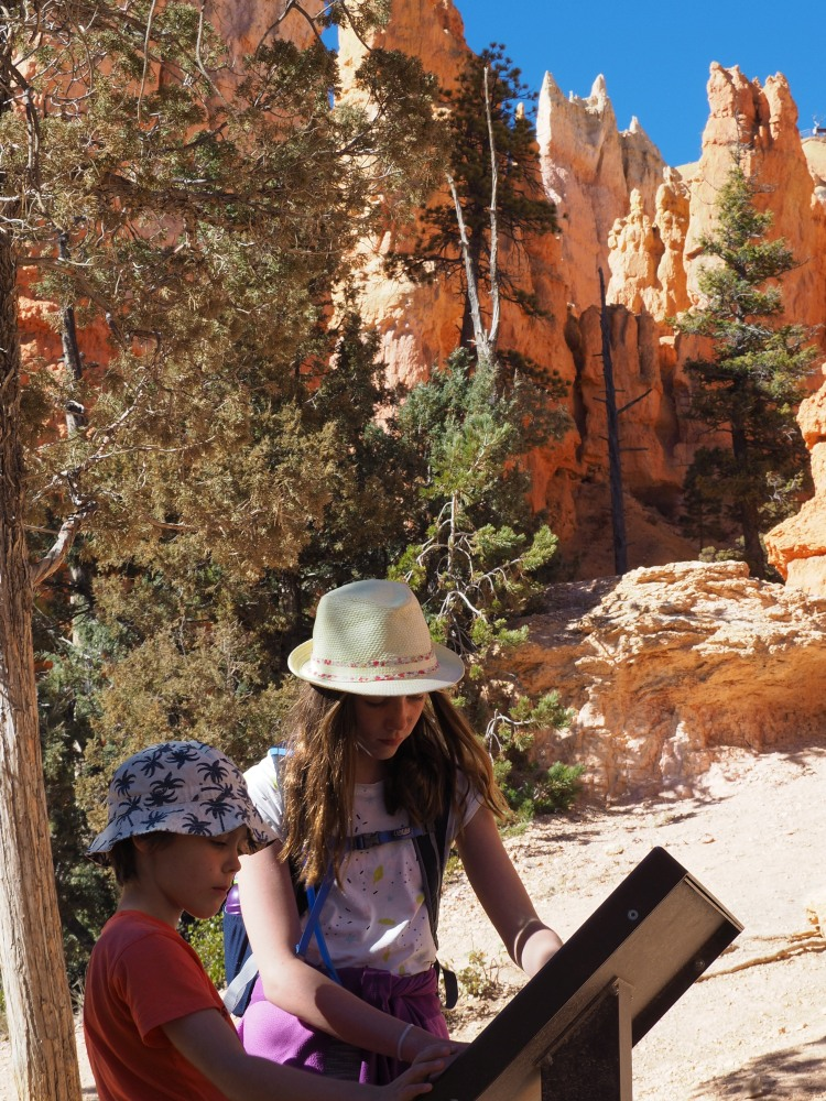 Outdoor kids and good hiking places - Bryce Canyon National Park, USA