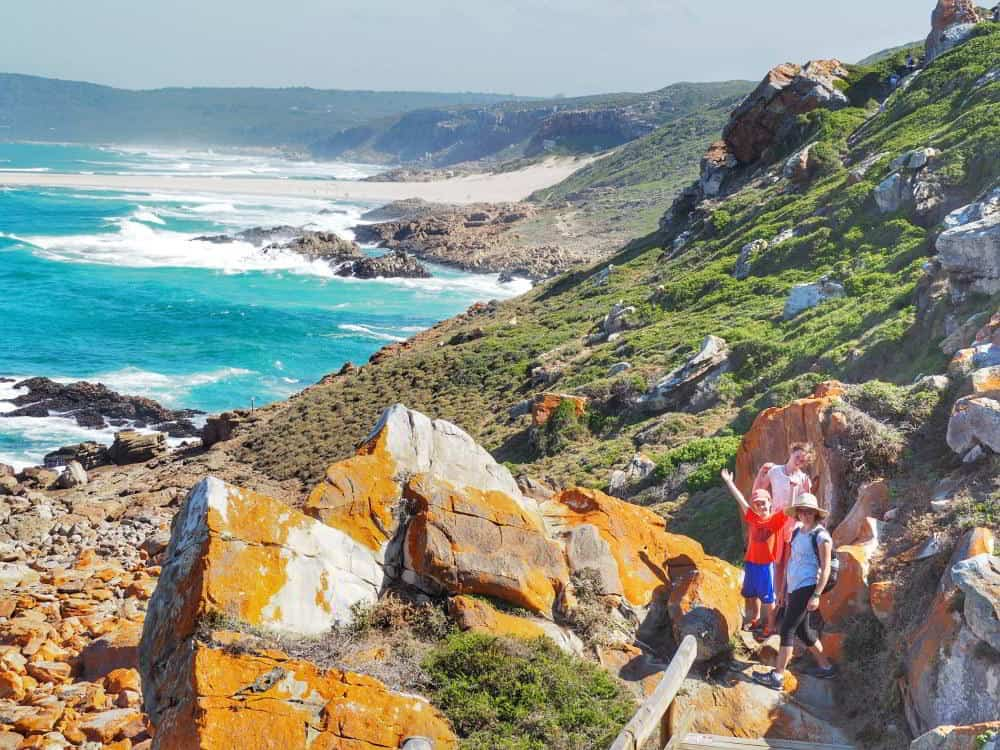 Robberg Peninsula hiking trail, Plettenberg Bay, South Africa.
