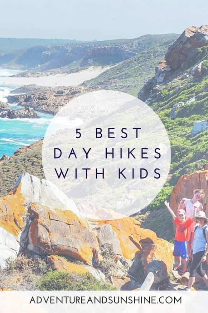 5 best day hiking trails with kids