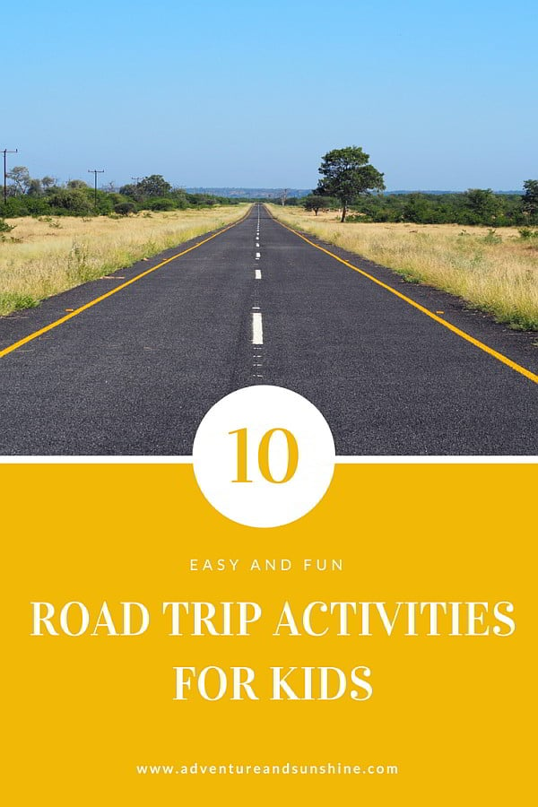Read our 10 best activities for surviving a road trip with school aged kids from technology, games and music #roadtrip #familytravel #traveltips