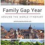 Family Gap Year - An Around the World Itinerary