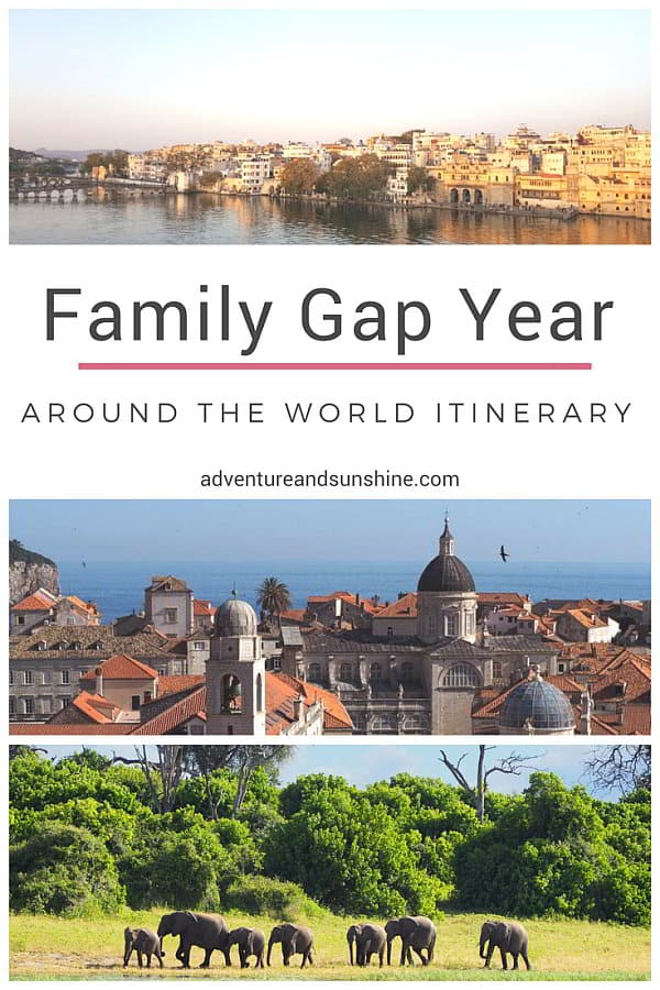 Family Gap Year Itinerary