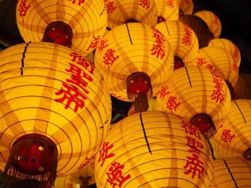 Lanterns, Tainan, Taiwan