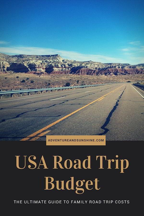 USA Road Trip Costs