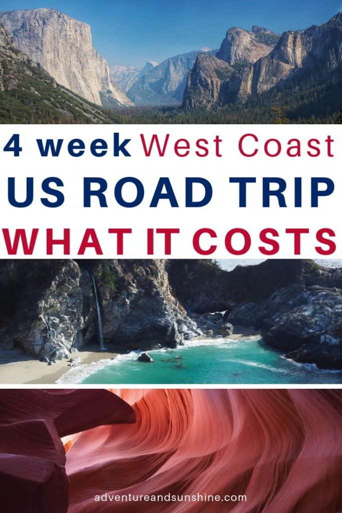 US Road Trip Campervan budget - Yosemite, Highway 1 and Antelope Canyon