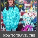 how to travel the world with kids - Pinterest
