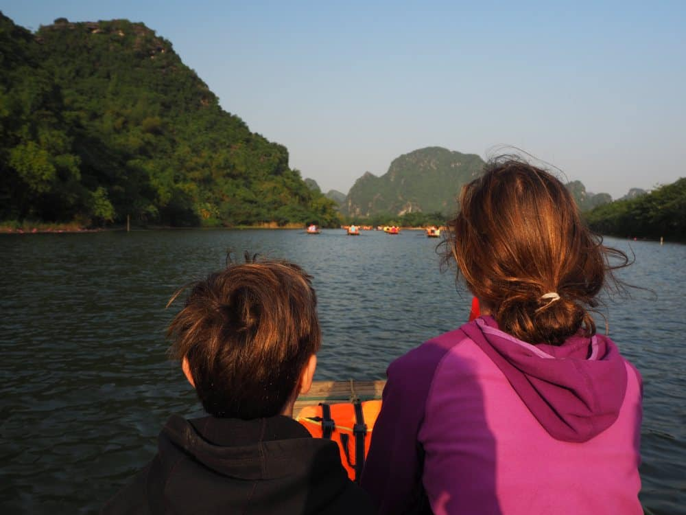 Travel the world with kids - Ninh Binh, Vietnam