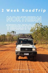 The perfect 2 week itinerary for a Northern Territory Road Trip including the best swimming holes, waterfalls, things to do and places to stay #australia #outback #northernterritory #roadtrip