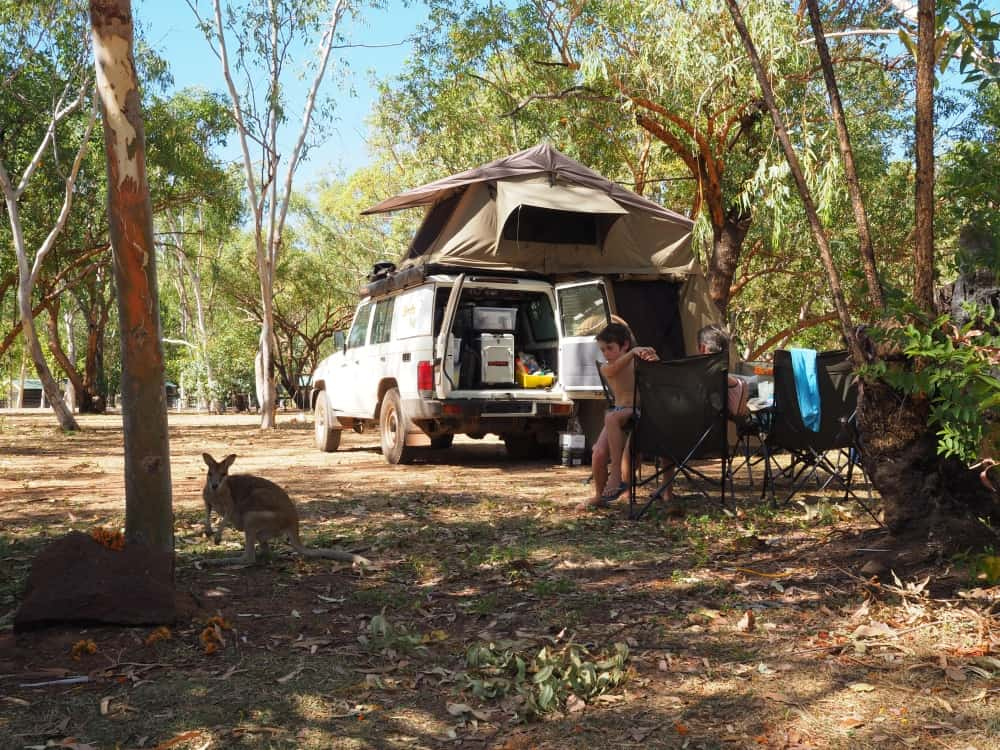 Nitmiluk National Park Campground Northern Territory Road Trip