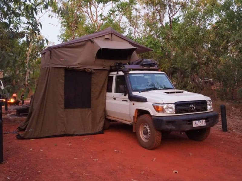 4WD Camper Northern Territory Road Trip