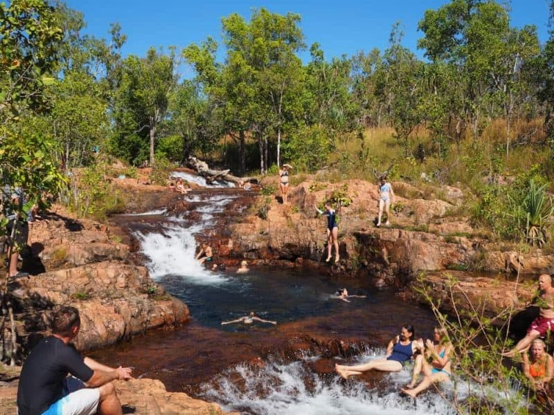 Buley Rockholes Litchfield National Park Northern Territory Road Trip