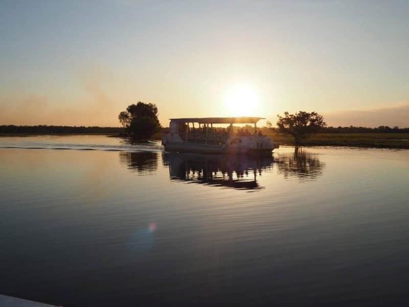 Yellow Water Billabong Sunset Cruise, Kakadu National Park