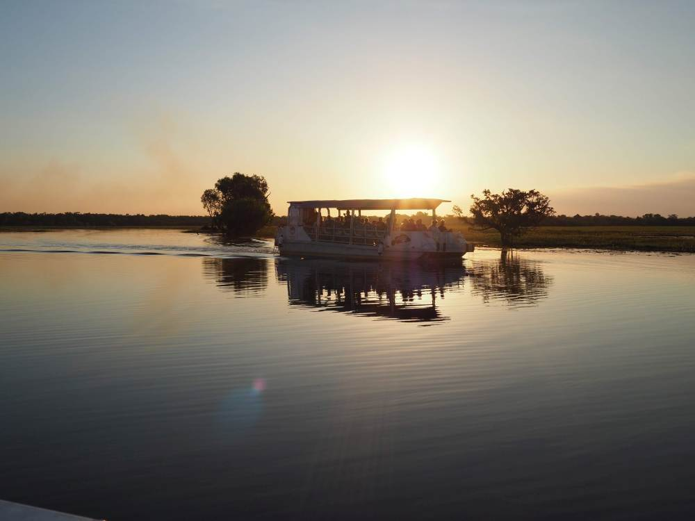 Yellow Water Billabong Sunset Cruise, Kakadu National Park