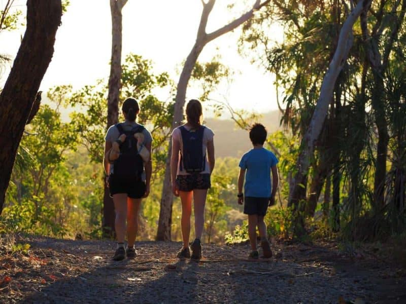 Northern Territory travel tips - Set off hiking at Sunrise to avoid the heat