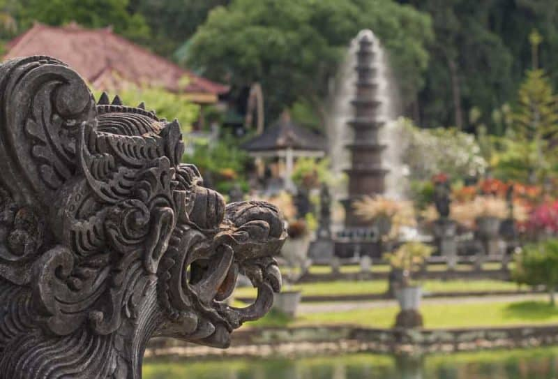 off the beaten track Bali Water Palace