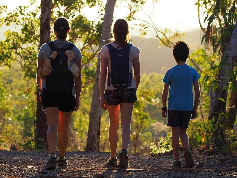 HIKING WITH KIDS - Nitmiluk National Park Australia