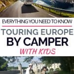 Europe by campervan with kids