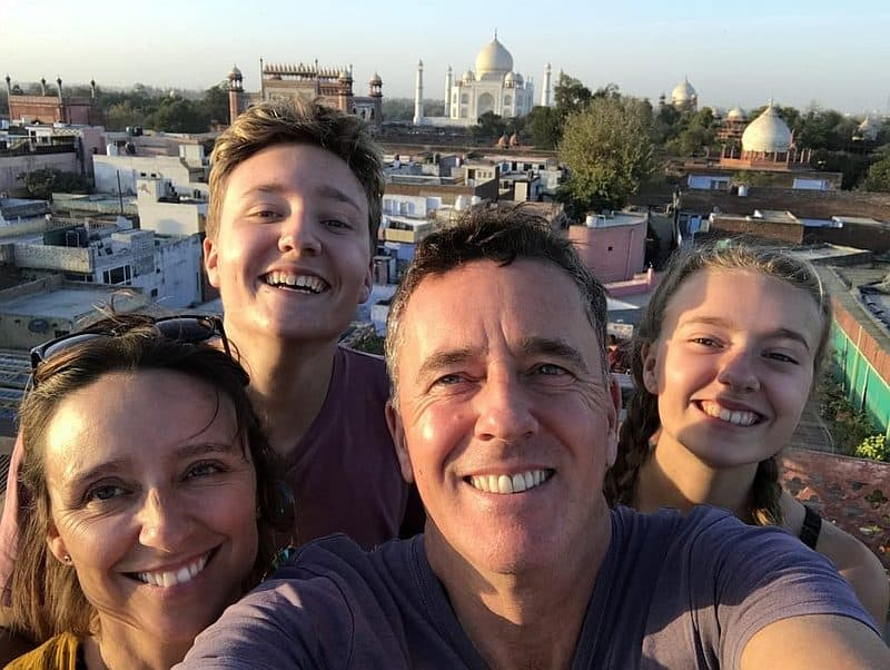 Gap year with family round the world travel