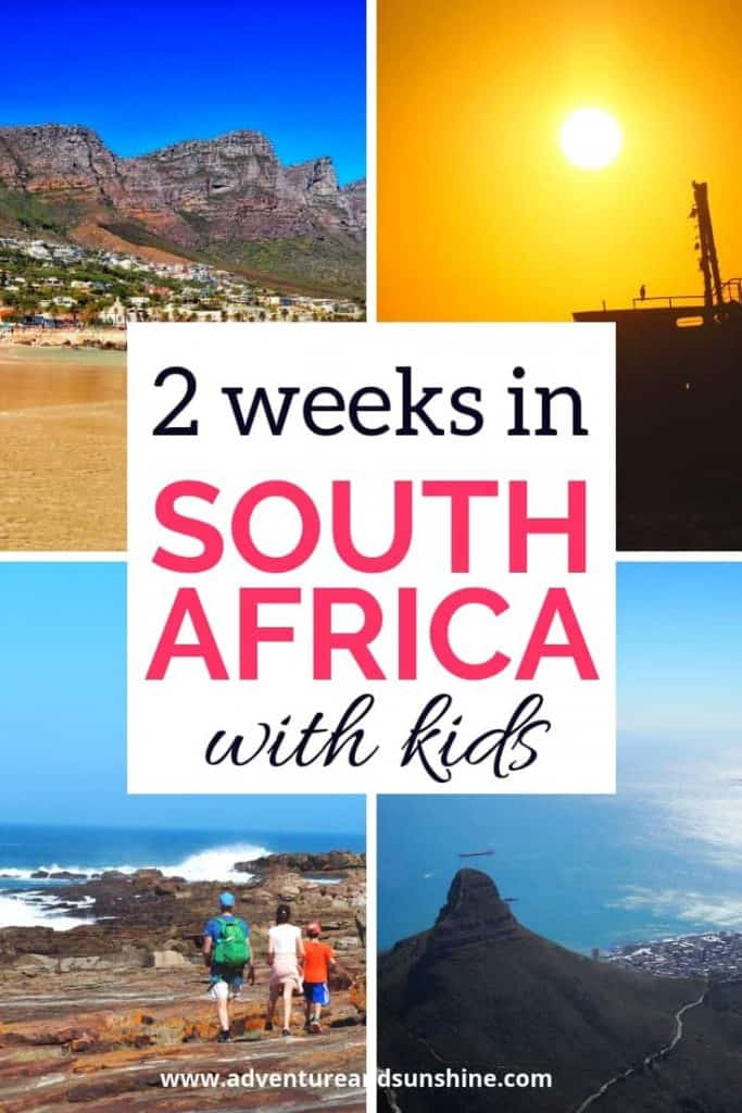 2 weeks in South Africa with Kids