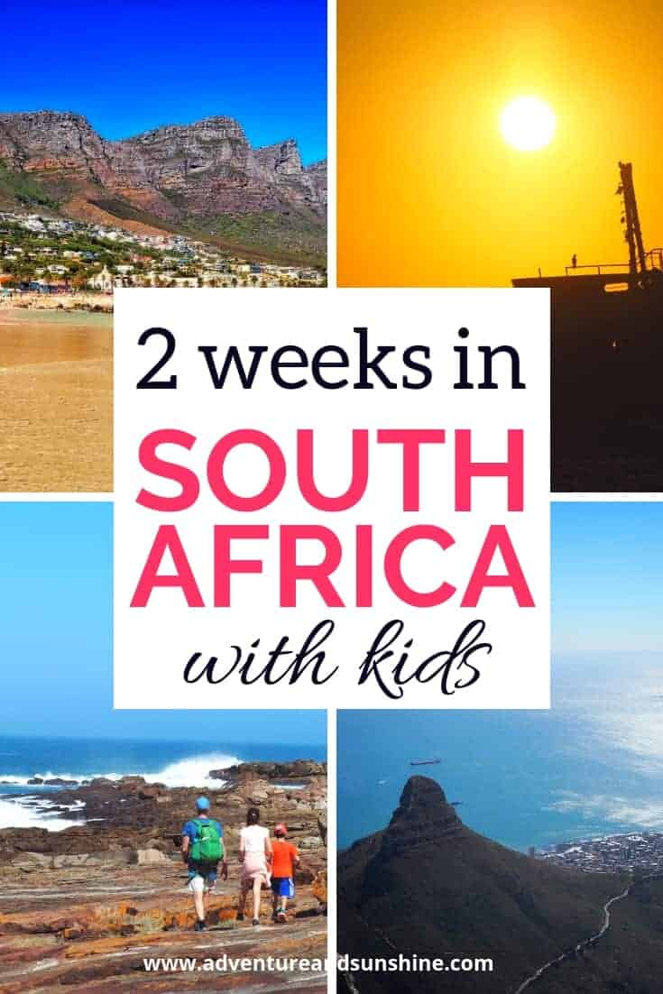 South Africa with Kids 2 week Itinerary