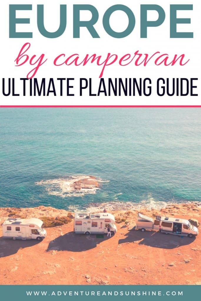 Guide to Planning a Europe Road Trip in a Motorhome